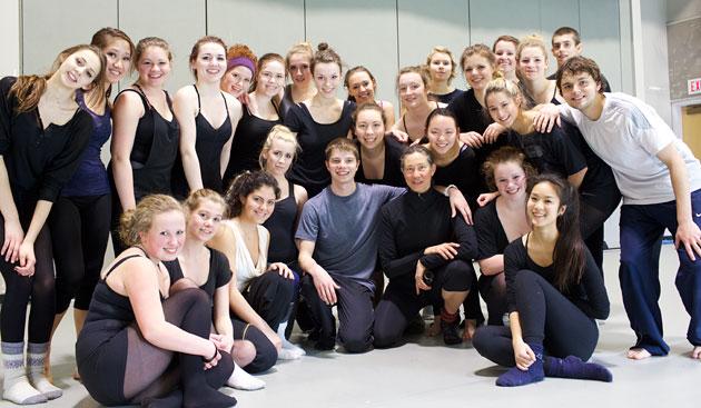 BJM Dancer Doug Baum with GISS and GISPA dancers